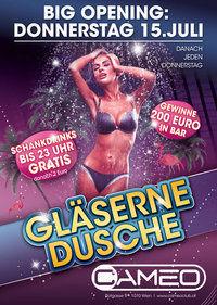 Gläserne Dusche / Big Opening