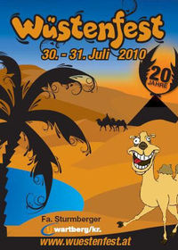 20 Jahre Original Wüstenfest@Fa. Sturmberger