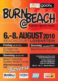 Burn@Beach Aftershow Party@Hallenbadareal