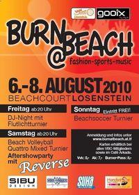 Burn@Beach Beachsoccerturnier@Hallenbadareal