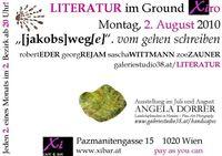 Literatur im Ground Xiro 3. Lesung@Xi Cafe & Bar