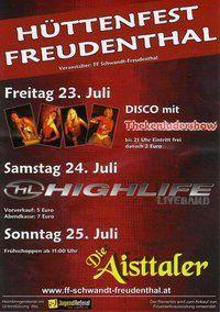 Hüttenfest Freudenthal@Hüttenfest
