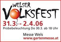 Welser Volksfest (am Abend)@Messegelände