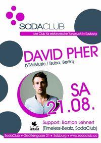 SodaClub pres. David Pher (VIVaMusic/Tsuba,Berlin)@Soda Club