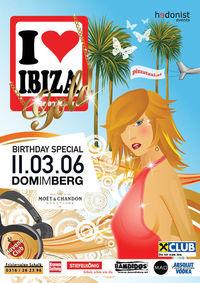 I love Ibiza - Gold@Dom Im Berg