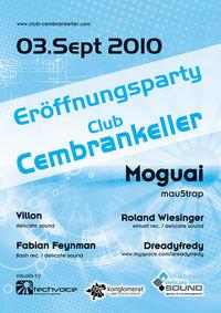 Club-Cembrankeller Eröffnung - verschoben!@Cembran