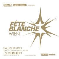 Fête Blanche Wien@Le Meridien Design Hotel