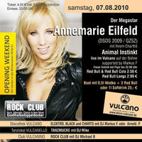 Opening Annemarie Eilfeld live@Vulcano