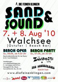 Sand & Sound Walchsee 2010@Walchsee Ostufer/Beach Bar