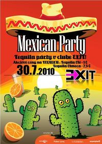 Mexican Tequila Party@Exit VIP Club