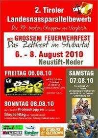 2. Tiroler Landesnassparallelbewerb@Freiwillige Feuerwehr Neustift