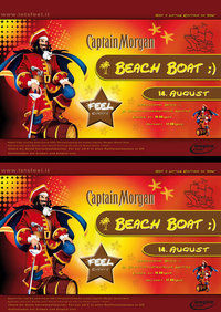 Captain Morgan BEACH BOAT by Feel Events@Schiffsanlegestelle Linz