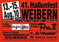 41. Hallenfest Weibern@Feuerwehrhalle Weibern