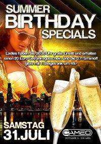 Summer Birthday Specials @Cameo