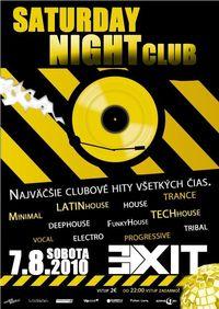 Saturday Night Club@Exit VIP Club