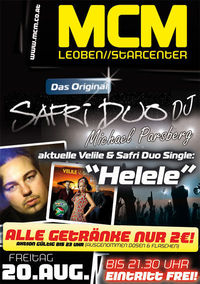 Safri Duo Deejays!@MCM Leoben