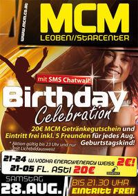Birthday Celebration!@MCM Leoben