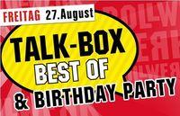 Talk Box Best Of & Birthday Party