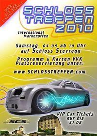 Schlosstreffen 2010 auf Schloss Steyregg / Autoshow & Openair@Schloss Steyregg