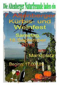 Kürbis und Weinfest 2010@Kürbis und Weinfest