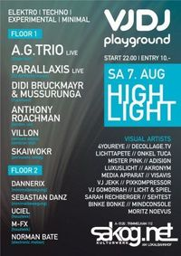 Playground VJDJ Camp - High Lite@Kulturwerk Sakog