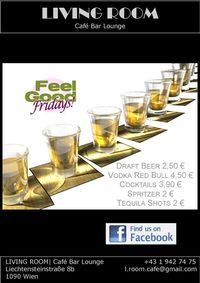 Feel Good Friday@Living | Room - Café Bar Lounge