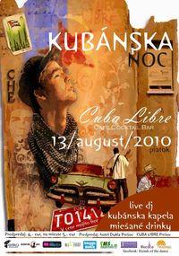 Kubánska Noc@Cuba Libre