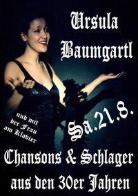 Chansonsängerin Ursula Baumgartl@Zweistein