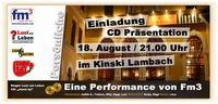 """CD Präsentation """"stand by""""@Kinski"""