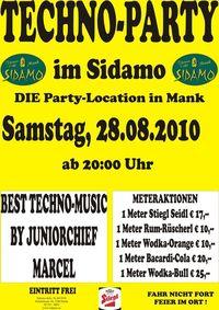 Techno-Party@Cafe Sidamo Mank