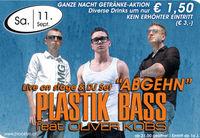 Plastik Bass - Abgehn live@Brooklyn
