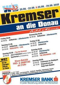 Kremser an die Donau - Feldmesse im Stadtpark@Feuerwehrzentrale zur Donau