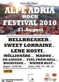 Alpe Adria Rockfestival 2010@Burgarena Finkenstein