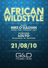African Wildstyle@G&D music club