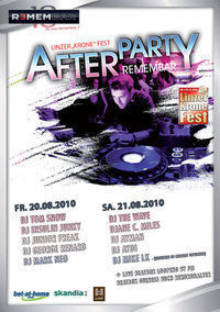Linzer Krone Fest Afterparty