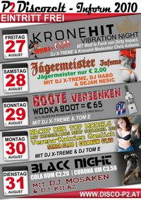 Black Night mit DJ Mosaken & DJ Kilaz@P2 Discozelt @ Inform