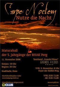 Maturaball der 5. Jahrgänge der BHAK Perg@Stadthalle