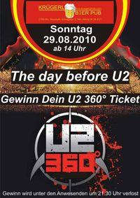 The day before U2@Bierpub Krügerl