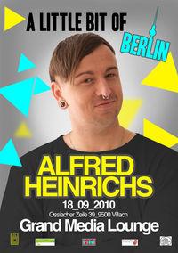 A LITTLE BIT OF BERLIN mit Alfred Heinrichs@Grand Media Lounge