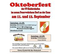 Oktoberfest Frühschoppen@Oktoberfest der FF Haidershofen