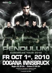 Pendulum European Tour 2010@Congress Innsbruck, Saal Dogana