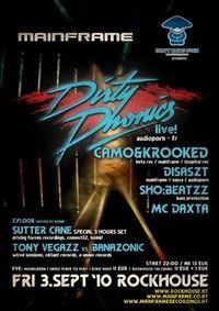D.E.R. DRINK presents: Mainframe feat. Dirtyphonics live!@Rockhouse
