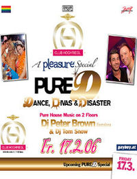 Pleasure - Pure D Special@Club Hochriegl