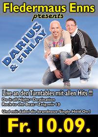 Darius & Finlay live in der Fledermaus Enns !