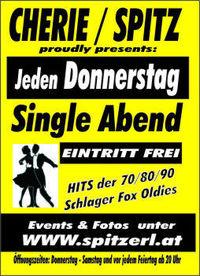 Single Abend@Tanzcafe Cherie Spitz