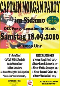 Captain Morgan Party@Cafe Sidamo Mank
