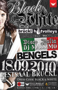 Brückl Hotvolleys presents the 2nd Black & White Party@Gemeinschaftshaus Brückl