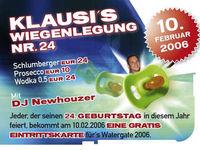 Klausi's Wiegenlegung Nr. 24@Disco Bel