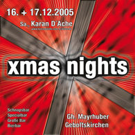 Karan D'ache rocken X-mas Nights@Gasthaus Mayrhuber
