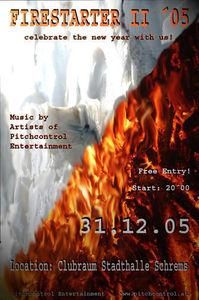 Firestarter II - New Year Party@Stadthalle Schrems